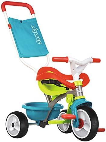 Triciclo Be move Confort azul con volquete y ruedas silenciosas ...