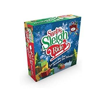 Santa's Sleigh Ride - An educational Christmas board game