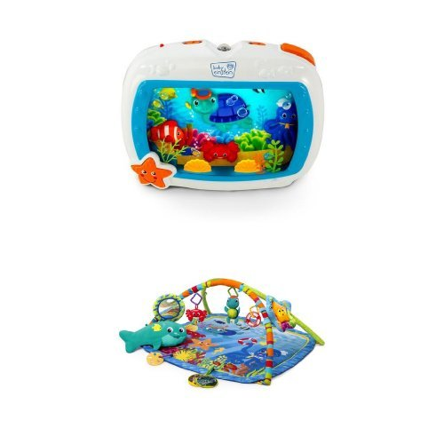 Baby Einstein Sea Dreams Soother Crib Toy And Nautical Friends Play Gym Bundle