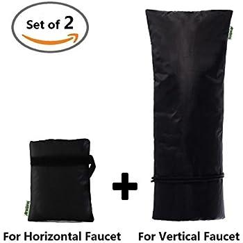 Amazon.com : X-CHENG Faucet Cover-Outdoor Winter Faucet Protector ...