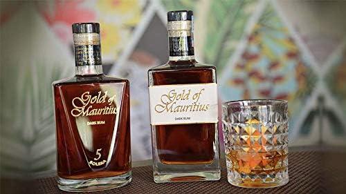 Gold of Mauritius Dark Rum 5 Solera Rum - 1 x 700 ml: Amazon.es: Alimentación y bebidas