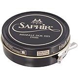 SAPHIR Médaille d'or 1925 PARIS Tête de luxe haute brillance CIRE POUR TOUS LISSE cuirs. 50ml
