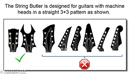 The String Butler Guitar Tuning Improvement Device Best Guitar Upgrade to Improve Tuning Stability ChromeV3