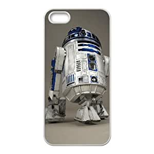 iphone5 5s phone cases White Star Wars R2D2 cell phone cases Beautiful gifts PYSY9396516