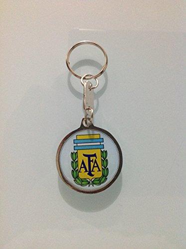 Keychain Metal Argentina Soccer Team Federation Logo Ll016