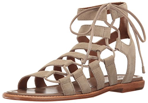 Frye Womens Blair Side Ghillie Gladiator Sandaal Ash