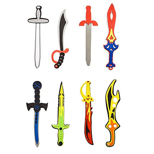 Assorted Foam Toy Swords for Children with