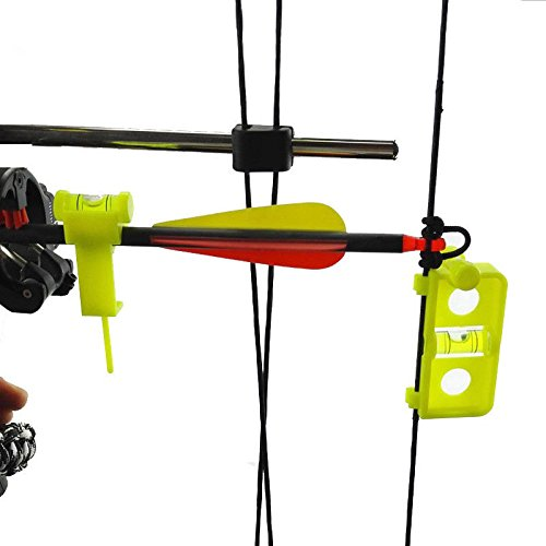 e5e10 Outdoors Archery Hunting Bow and Arrow String Level Combo Kit Tuning and Mounting String Level Combo