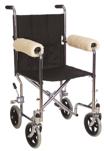Essential Medical Supply D3004 Sheepette Wheel-Chair Armrest Pads