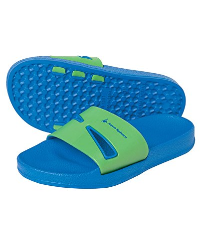 Aqua Sphere Boy 's Azul - Royal Blue/Green