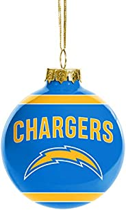 FOCO NFL Glass Ball Ornament - Limited Edition Christmas Ball Ornament - Show Your Team Spirit with Officially