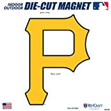 "Stockdale Pittsburgh Pirates SD 6"" Logo MAGNET Die Cut Vinyl Auto Home Heavy Duty Baseball"
