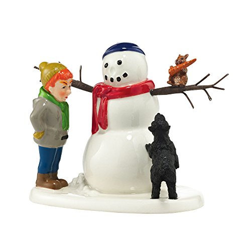 Department 56 Snow Village Return Nose and No One Gets Hurt Accessory Figurine, 2.95