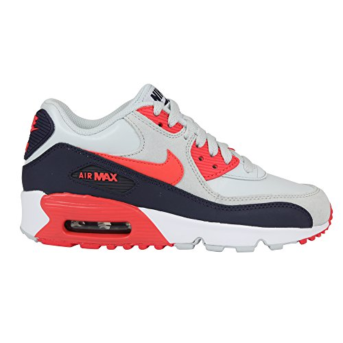 Nike Youths Air Max 90 Multi Leather Trainers 38 EU