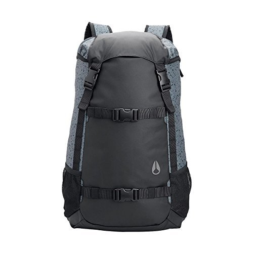 Nixon Landlock II 24L Backpack Gray, One (Nixon Mesh Backpack)