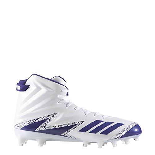 Adidas Buitenissig X Carbon Hoge Klamp Mens Voetbal Wit-paars