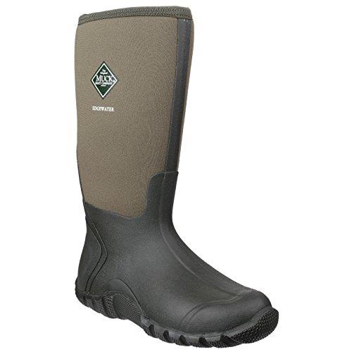 Muck Boots Edgewater - Stivali Wellington - Unisex (48 Eu) (muschio)