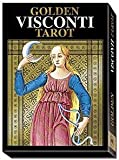 Party Games Accessories Halloween Séance Tarot Cards The Golden Visconti Italian Renaissance Tarot Deck