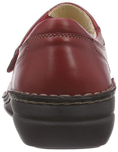 Finn Comfort Laval Ladies Mary Jane Shoes Red (campari Arena)