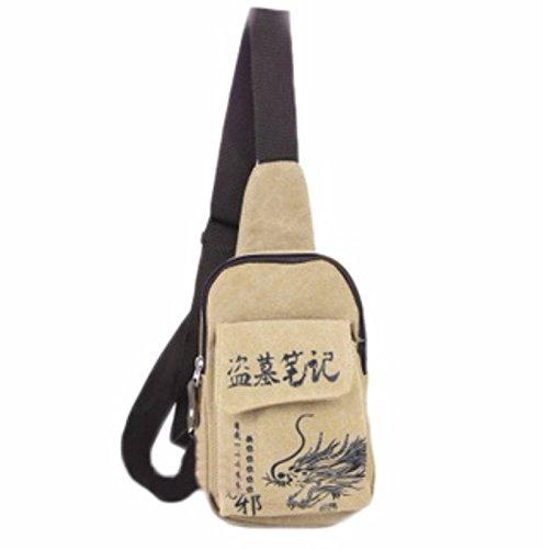 rare Schultertasche Tasche Shoulder Bag Rucksack reisetaschen Drachen Bräunen Fairytail new