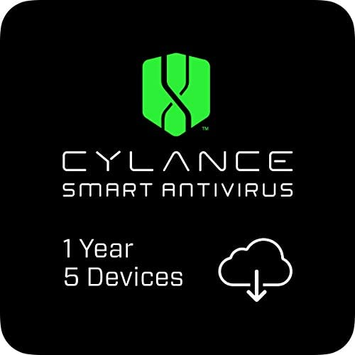 Cylance Smart Antivirus | 1 Year | 5 Devices [PC/Mac Online Code]