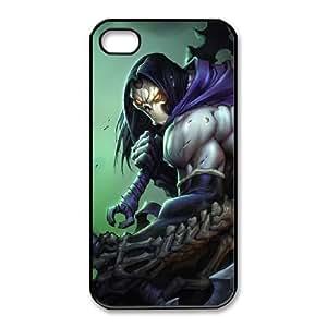iphone4 4s phone case Black Darksiders PGD4513919