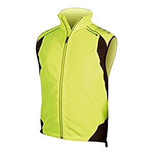 Endura Laser Cycling Gilet Yellow, Small