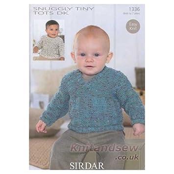 Sirdar Snuggly Tiny Tots Dk Knitting Pattern 1336 Amazon Baby