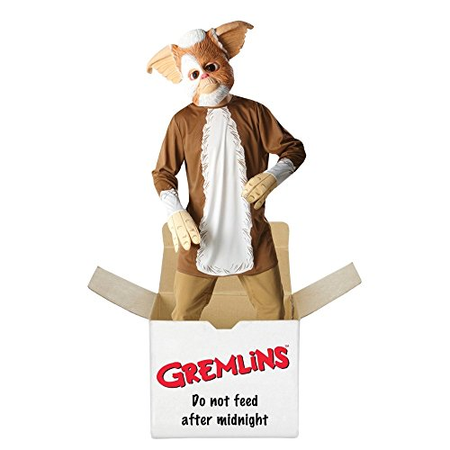 GREMLINS GIZMO 80'S FILM GENTS MEN'S ADULTS FANCY DRESS PARTY HALLOWEEN COSTUME - Gremlins Gizmo Costume