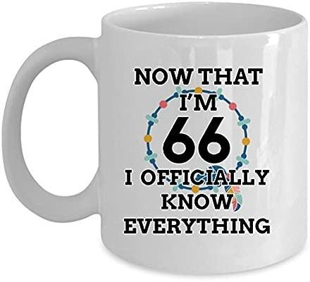 Amazon.com: 66 taza de cumpleaños – Producto saber todo ...