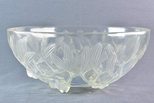 Used, Lalique Crystal 1921 Opalescent GUI Mistletoe Motif for sale  Delivered anywhere in USA