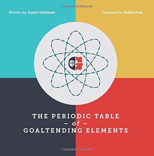 The Periodic Table Of Goaltending Elements Justin Goldman Kathy
