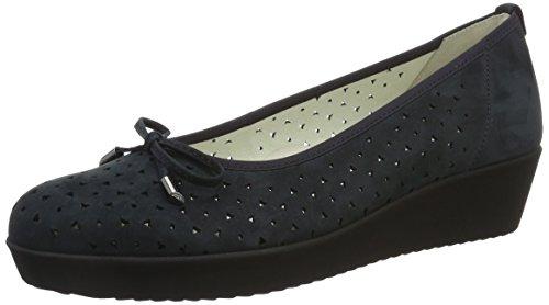 Gabor Shoes Comfort, Bailarinas Mujer Azul (Nightblue 46)