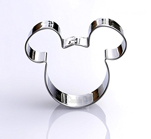 Mickey Mouse Cookie Cutter- Stainless Steel (Mickey Mouse Cookie)