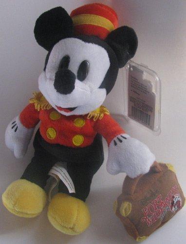 Disney Bean Bag Plush Mickey Mouse Bellhop Fort Wilderness 8