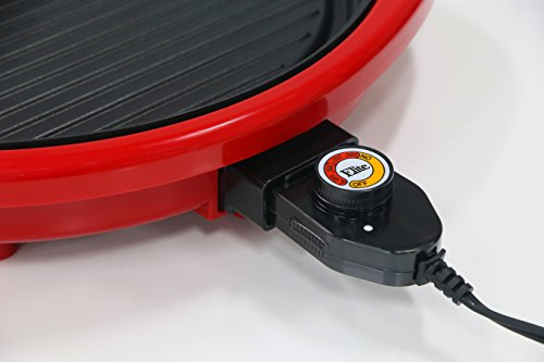 Elite Gourmet EMG-980R Indoor Grill, Red by Maxi-Matic (Image #2)
