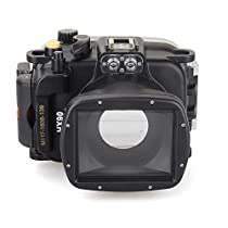 EACHSHOT 40m/130ft Underwater Diving Camera Housing for Sony HX90