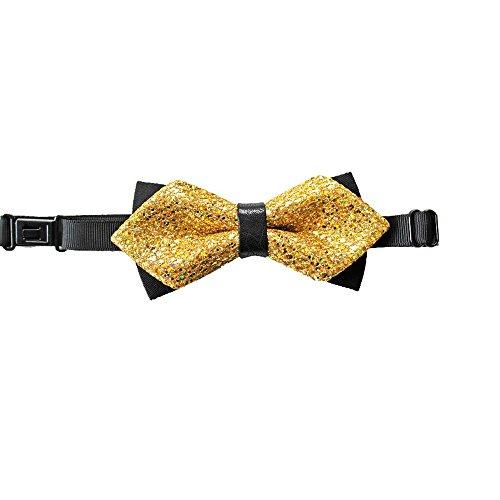Cloud Rack Bow Tie Double Cortical Golden (Gold Double Lace)