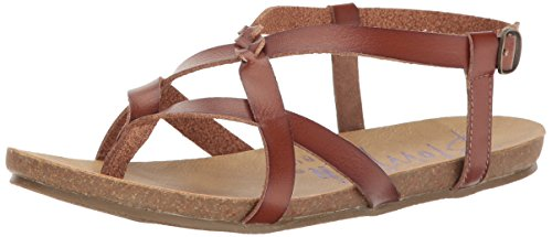Blowfish Women's Granola-B Flat Sandal, Scotch Dyecut, 7.5 M -
