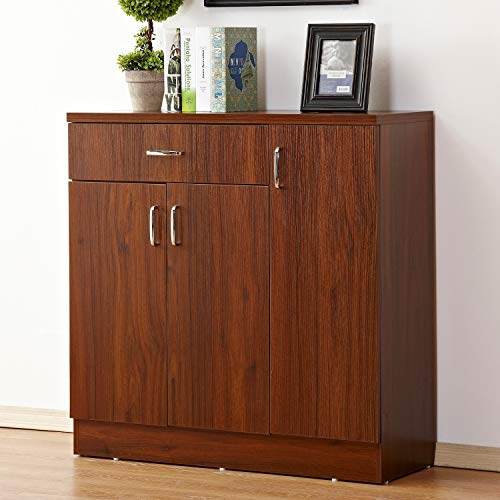 Soges 5-Tier Shoe-Storage Cabinet with Drawer 35.4