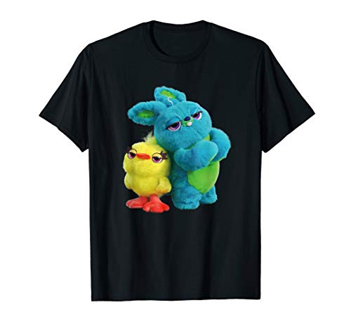 - Disney Pixar Toy Story 4 Ducky and Bunny Tough Pose T-Shirt