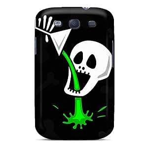 Galaxy S3 Halloween Spirit 184 Print High Quality Tpu Gel Frame Case Cover