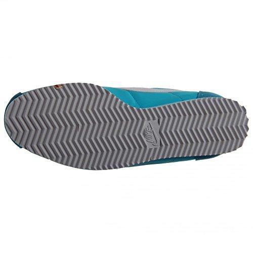 Nike Wmns Classic Cortez Nylon, Zapatillas de Deporte para Mujer Azul (Gamma Blue / White)