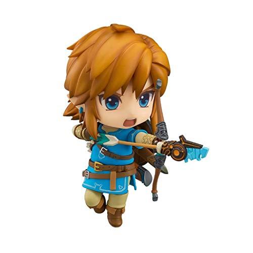 Duzhengzhou The Legend of Zelda: Breath of The Wild: Link Action Figure Nendoroid-4in (Breath Of The Wild Real Action Hero)