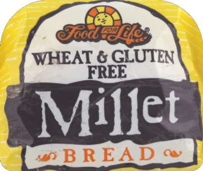 Food For Life Baking Wheat Free Millet Bread, 24 Ounce -- 6 per case. by Food For Life Baking