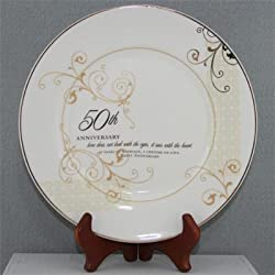 Love Sees with the Heart Porcelain Plate with Stand