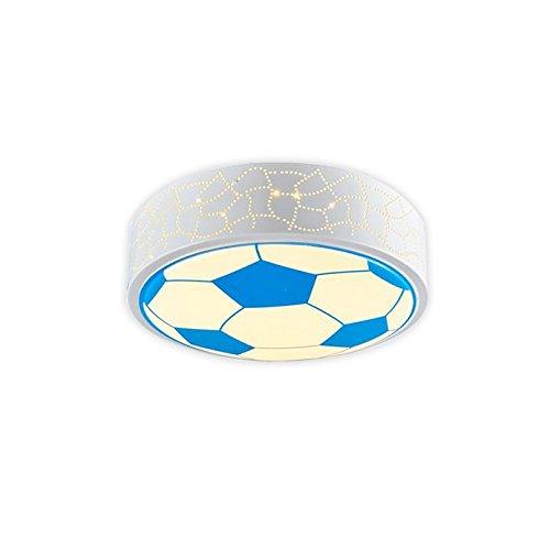 24W LED Fußball Deckenleuchte Kreative Kinder Schlafzimmer Studie Cartoon Beleuchtung  40cm