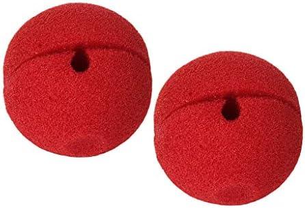 sharprepublic 赤い サーカス ピエロ 鼻 赤い鼻 ハロウィーンパーティー コスプレ ファンシードレス