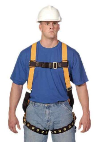 (Miller Titan by Honeywell TF4500/XXXLAK Polyester T-Flex Stretchable Harness, XXX-Large)