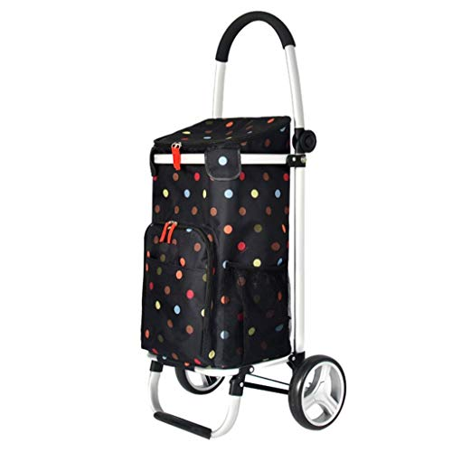 - IRVING Trolley, Shopping Grocery Foldable Cart